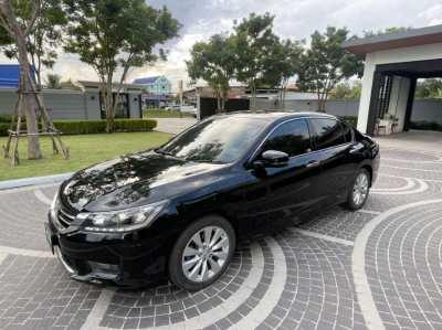 Honda Accord 2015 2.0EL G9, Black, one-handed, home car, real mileage