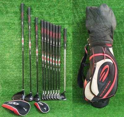 Ideal beginner/novice set, Dunlop DDH+ full set of golf clubs