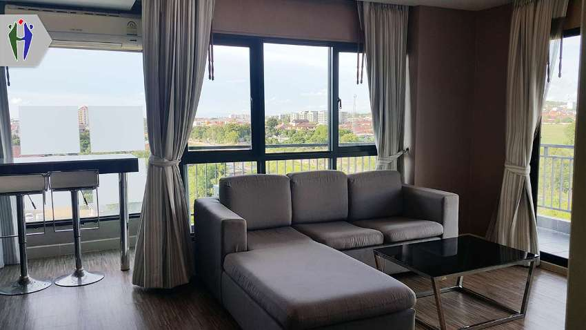 Condo Conner Unit for Rent, 51 sqm, 8,000 baht South Pattaya  close to