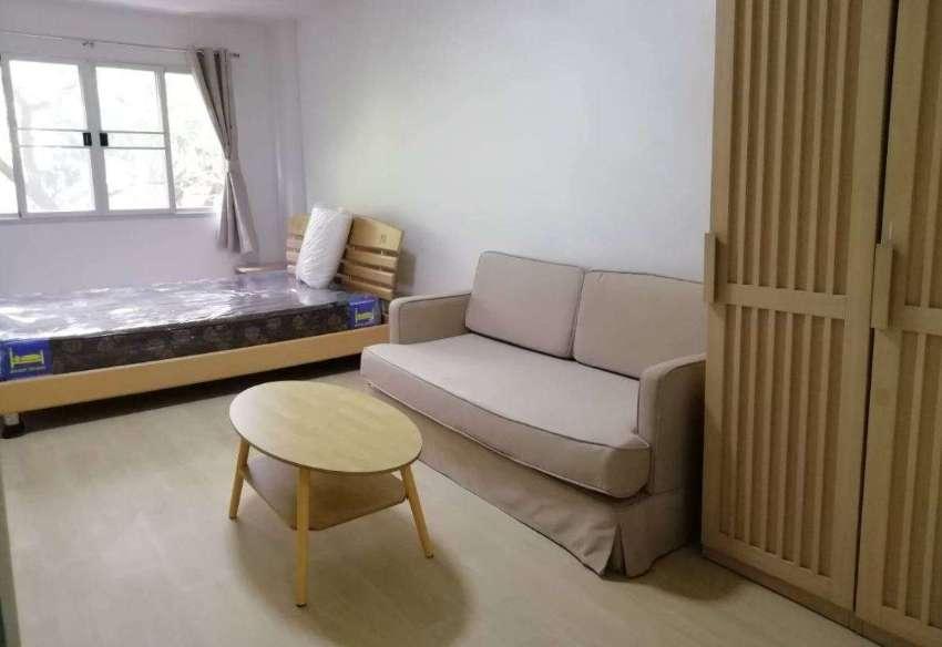 LPN Bodin Ramkamhang TowerA1 FL2 fully furnished great locale 5500THB