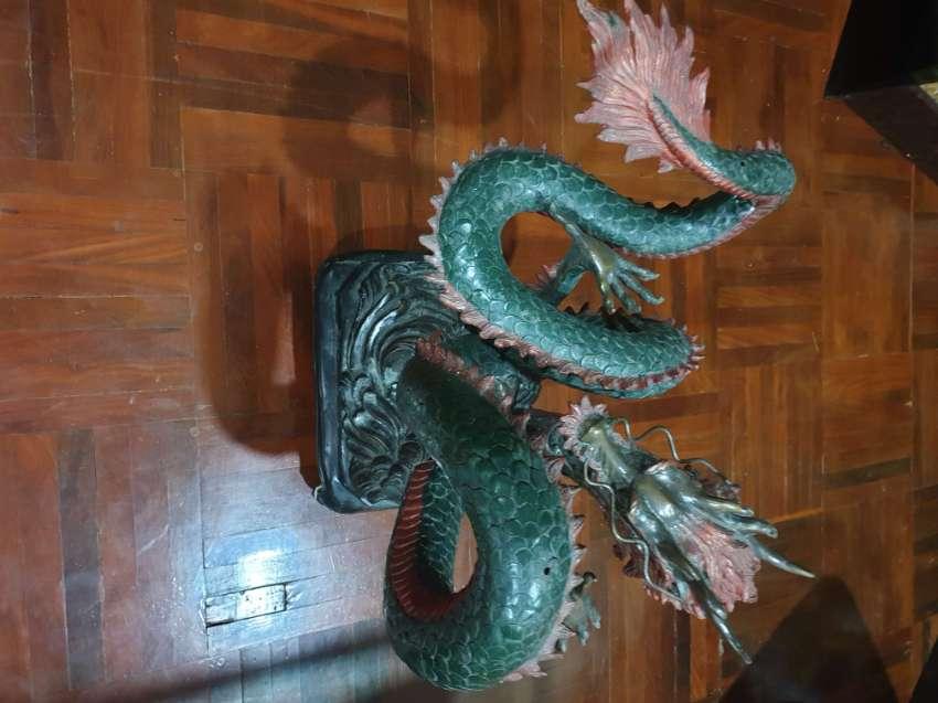Bronze Dragon table base