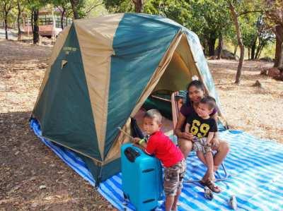Coleman BC Cubic Dome plus Tent 2.5 x 2.5m