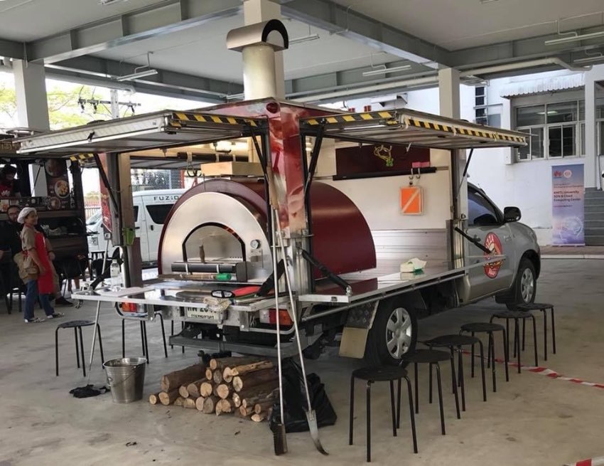 Mobile Pizza Oven Unit - Foodtruck