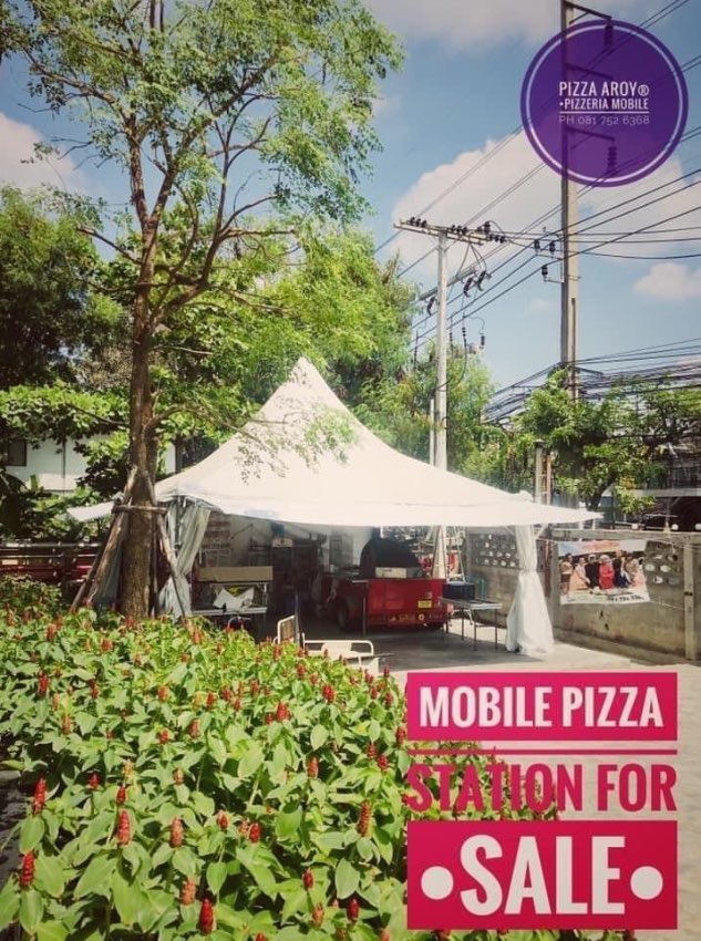 MOBILE PIZZA STATION