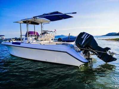 Fishing boat Fiberglass YAMAHA 115