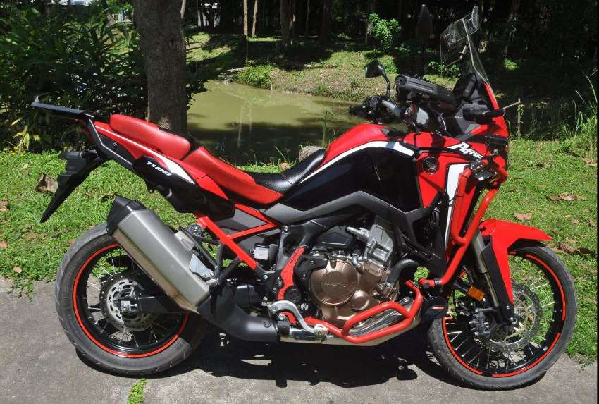 HONDA AFRICA TWIN CRF1100L – BARGAIN - BETTER THAN NEW CONDITION -