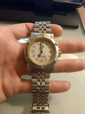 Tag Heuer 955.706G original 41mm Watch