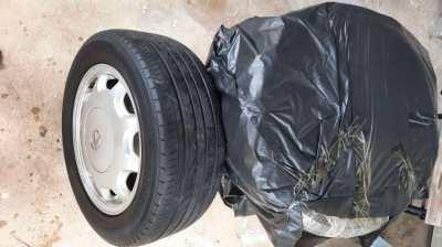 Lexus original 4 pcs rims+tyres