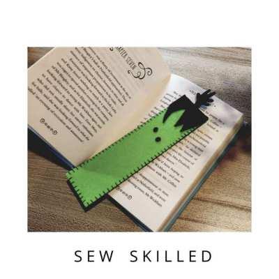 Felt Handstitched Bookmarks