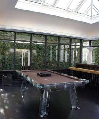 Impatia Filotto 8ft Glass Pool Table