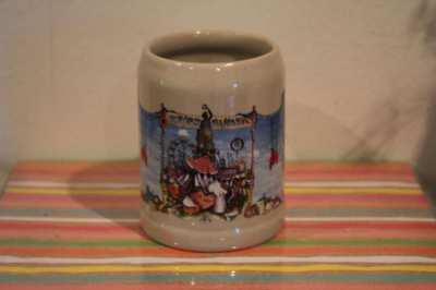 Ceramic Beer Mug - Motif Käfer Schänke Munich - 014