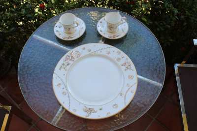 Chopard Porcelain-Set, 6 pieces, as good as new from 1996