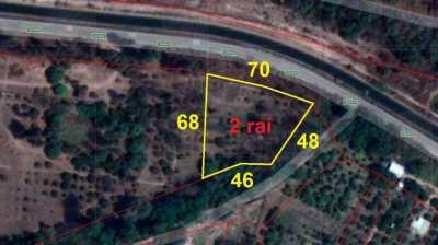 2 Rai Land for Sale San Kamphaeng