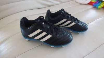 Boys Adidas football boots,