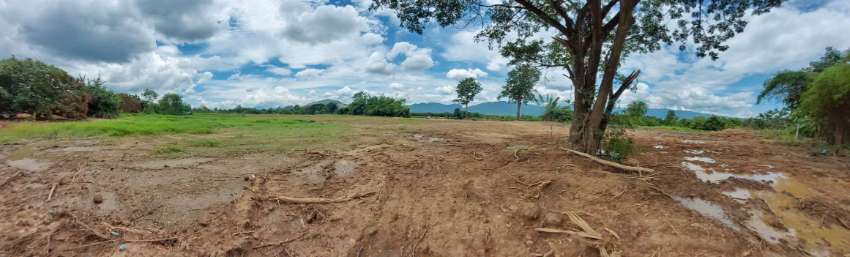 Land for sale at Ban Mae Soi, Chom Thong District, next to the Ping Ri