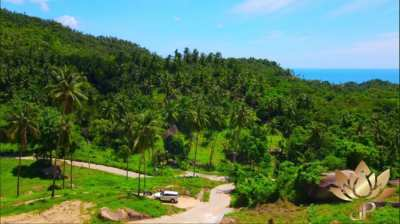 LAMAI . LAND OF 425 SQM WITH SEAVIEW