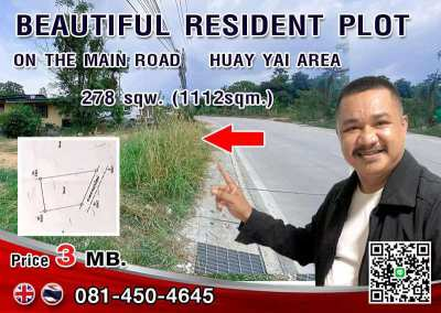 Buy this plot for you dream home.