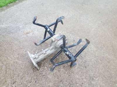 Bush cutter plough