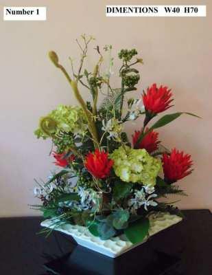 Flower Display Selection