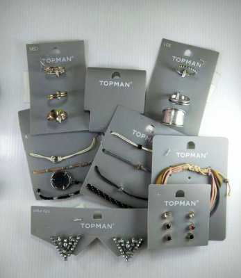 New Quality Mens Jewelry Still on Retail Cards at Low Prices