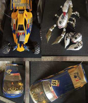 Large Collection of R/C Cars, Robots and Others – Plus Original Workin