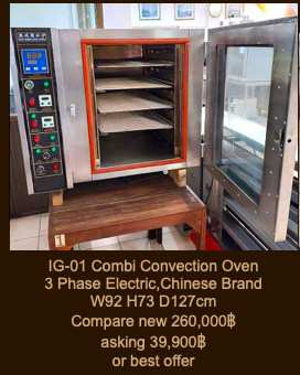 Combi Convection Oven 3 Phase Electric