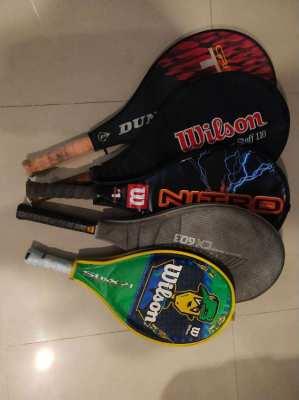 Tennis Racquet Selection – Including Childrens Model & Multi racquet b
