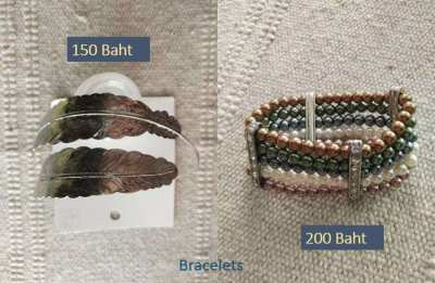 Selection of New Necklaces, Bangles, Bracelets and More