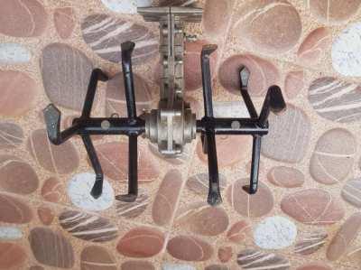 Brush cutter plough attachment