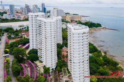 Fantastic 192 sqm, sea view, foreign name 3 bedroom beachfront condo
