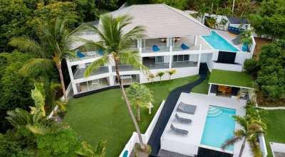 For sale sea view villa in Bophut Koh Samui