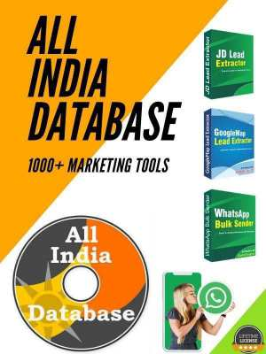 I will provide you any kind of database from india.
