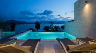 Sea view villa for sale in Plai Laem Koh Samui
