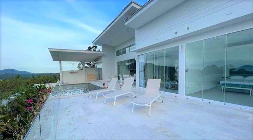 Brand new sea view villa in Bophut Koh Samui for sale