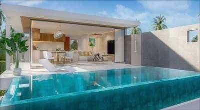 For sale off plan sea view villa in Bophut Koh Samui