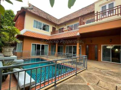 5 bed 4 bath Pool Villa House for rent in East Pattaya