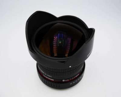 Samyang for Canon 8mm f3.5 UMC Fish-Eye CS II Lens