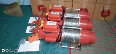 300kg Electric Wire Winch x3