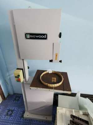 Bigwood Electric Band Saw