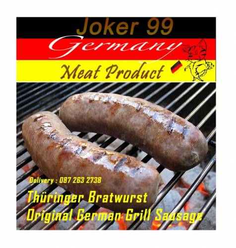 Original German Grill Sausage