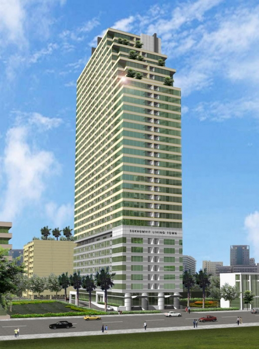 Asoke/Sukhumvit: 1BR Condo On 14th FL For Rent