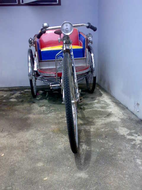 For Sale Two Thai Samlors Rickshaw Tricycle